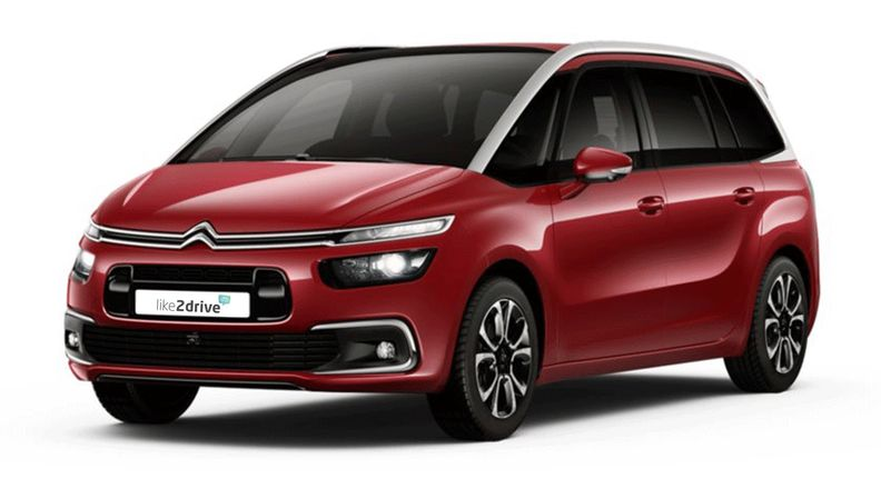 Firmenwagen im Auto-Abo: Citroen Grand C4 SpaceTourer PureTech 130 Shine, 95 kW (130 PS)